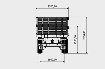 Bicci 2B200NP Zweiachs Dreiseitenkipper 03